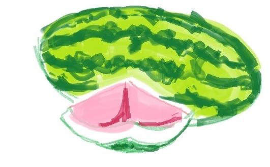 watermelon-doodle